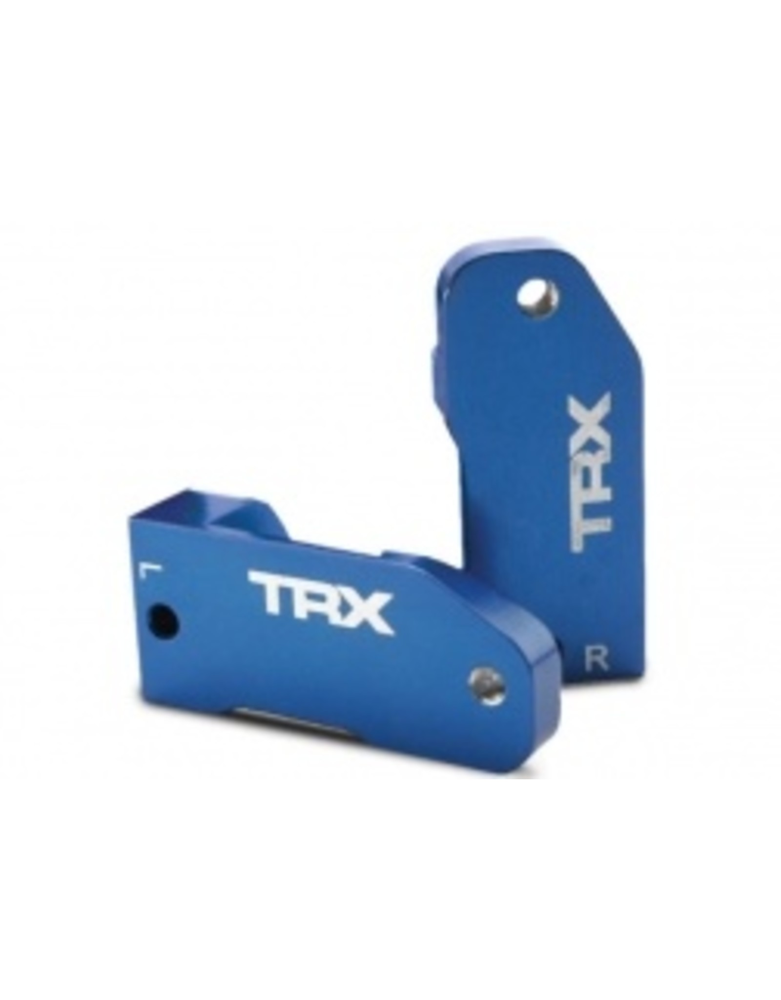 Traxxas CASTER BLOCKS, 30-DEGREE, BLUE  (TRA3632A)