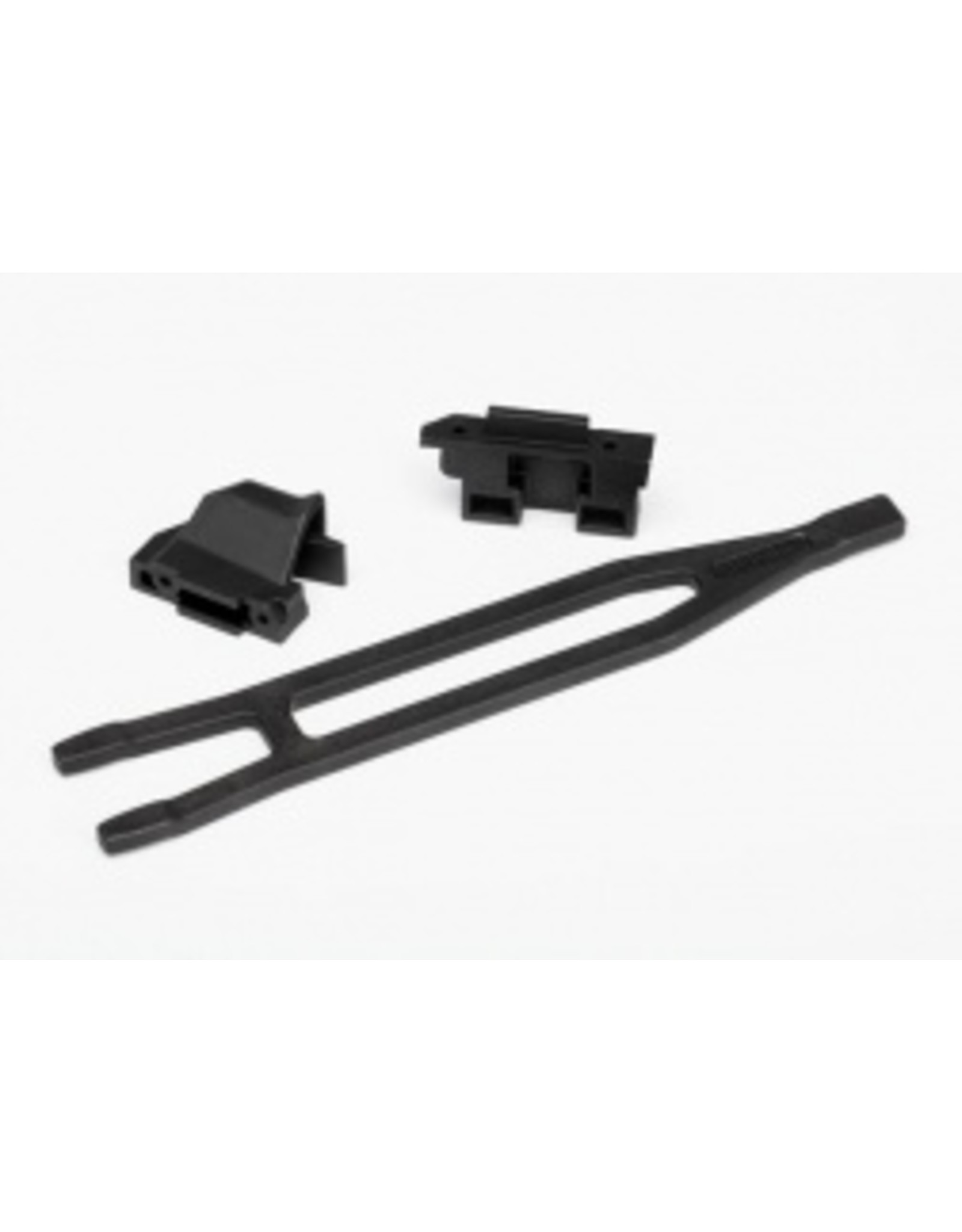 Traxxas Battery hold-down (1)/ hold-down retainer, front & rear (1 each) - Slash 4x4 / Rally - Low CG (7426)