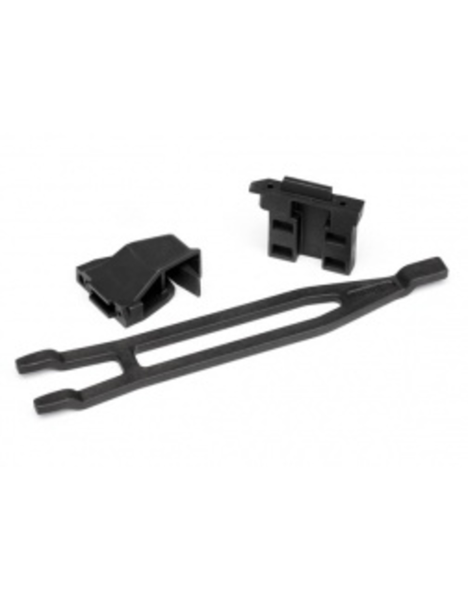 Traxxas Battery hold-downs, tall (2) (allows for installation of taller, multi-cell batteries) - Slash 4X4 / Rally (7426X)