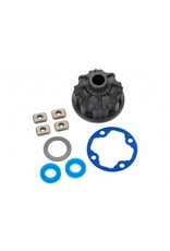 Traxxas Carrier, differential (heavy duty)/ x-ring gaskets (2)/ ring gear gasket/ spacers (4)/ 12.2x18x0.5 PTW(8681)