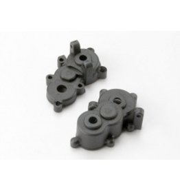 Traxxas Gearbox halves, front & rear (7091)