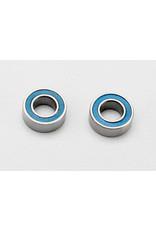 Traxxas Ball bearings, blue rubber sealed (4x8x3mm) (2) (7019)
