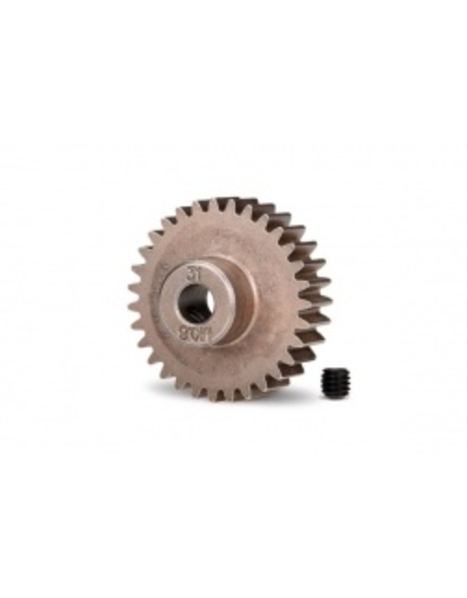 Traxxas Gear, 31-T pinion (0.8 metric pitch, compatible with 32-pitch) (fits 5mm shaft)/ set screw (5638)