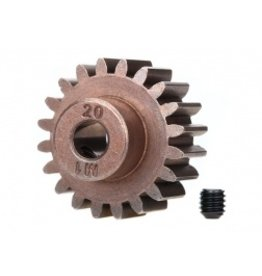 Traxxas Gear, 20-T pinion (1.0 metric pitch) (fits 5mm shaft)/ set screw (compatible with steel spur gears)(6494X)