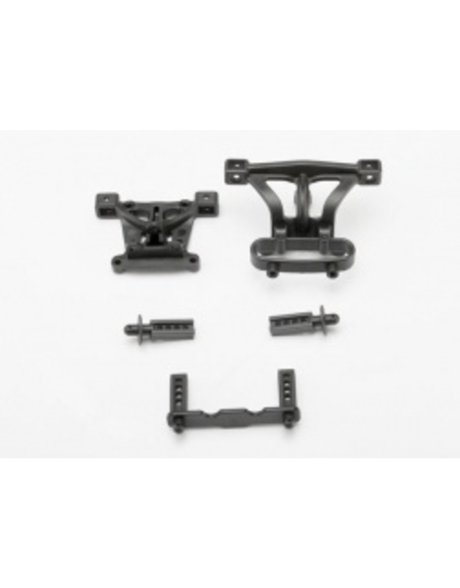 Traxxas Body Mounts and Body Posts, Front & Rear - 1/16  (TRA7015)