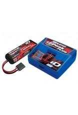Traxxas 3S 4000mAh Single Completer Pack: (1) 11.1V 4000mAh LiPo Battery, (1) EZ-Peak Plus ID Charger (2994)