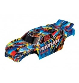 Traxxas Body, Rustler, Rock n' Roll (painted, decals applied)  (3748)