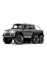 Traxxas 1/10 TRX-6 Mercedes Benz AMG 6X6 (SILVER): No Battery, No Charger