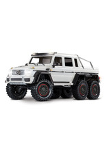 Traxxas 1/10 TRX-6 Mercedes Benz AMG 6X6 (WHITE): No Battery, No Charger