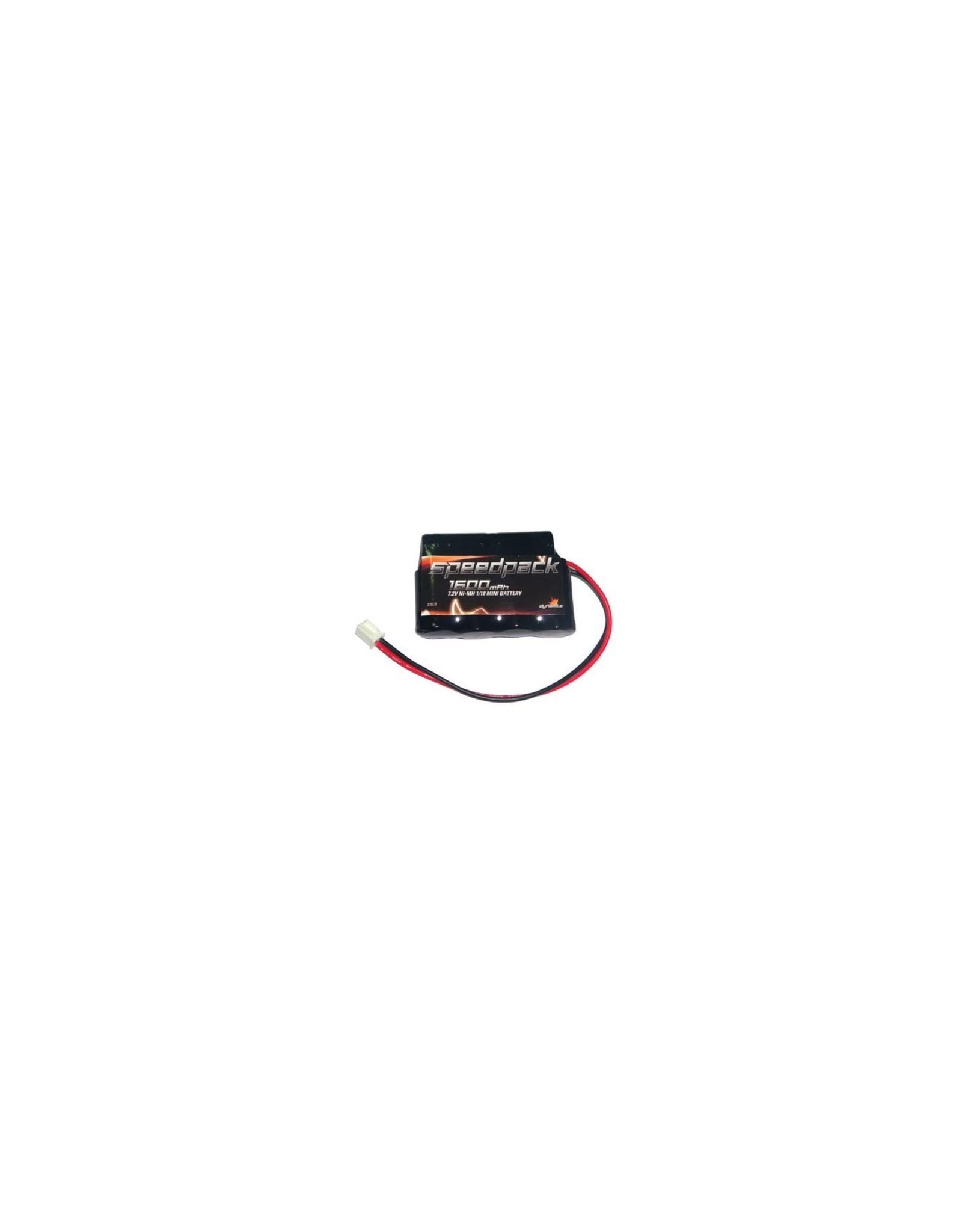 Dynamite 7.2V 1600mAh Ni-MH Battery: Mini-T, MLST/2 (DYN1456)