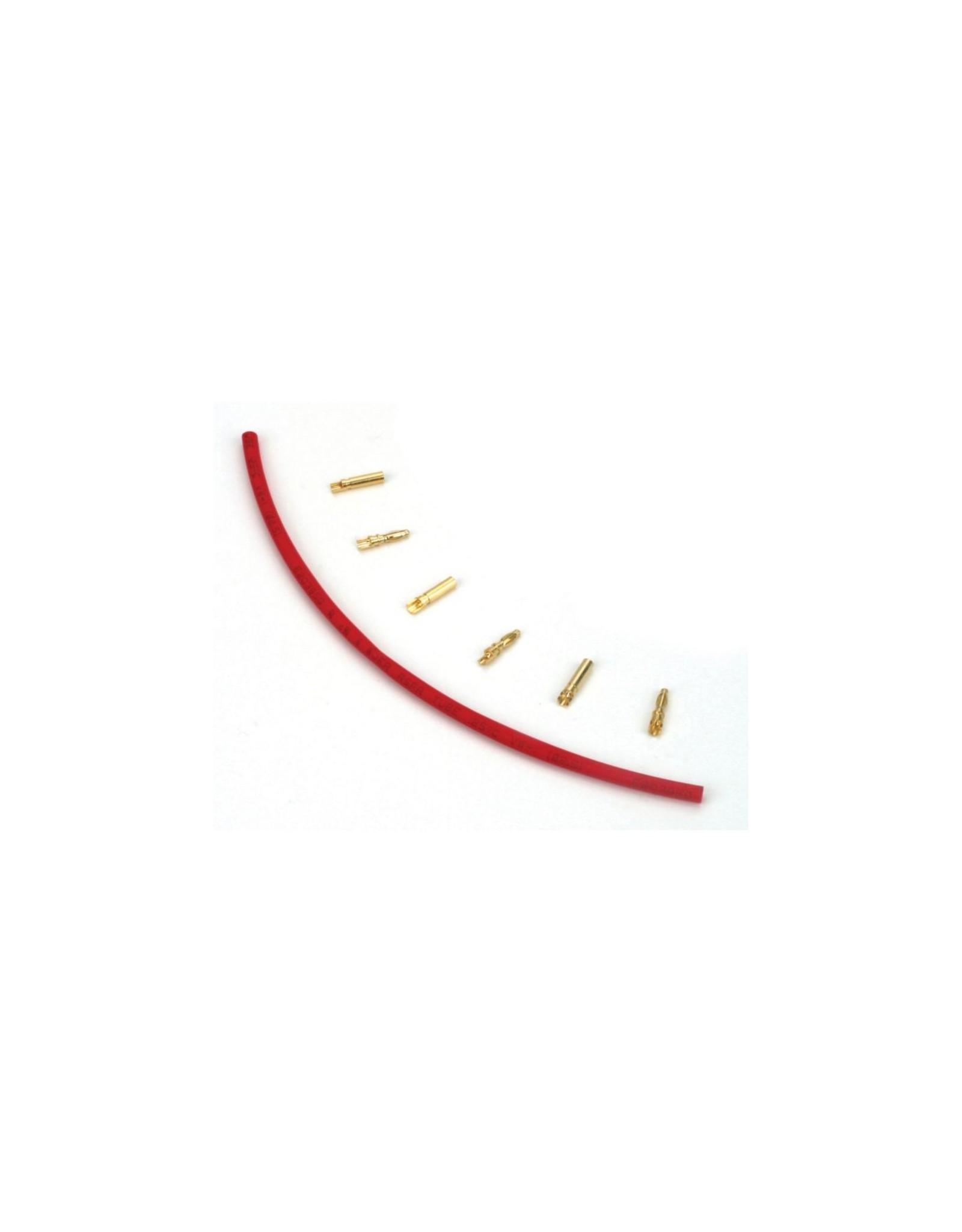Dynamite Gold Bullet Connector Set, 2mm (3)  (DYNC0049)