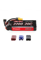 Venom Power DRIVE 11.1V 2200mAh 20C 3S LiPo Battery: UNI 2.0 Plug (VNR1577)