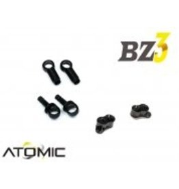 Atomic EXTENDED SHOCK MOUNT W/ LONG DAMPER (BZ3, BZ-EVO, SZ, FFZ) (BZ3-UP05 & UP007)
