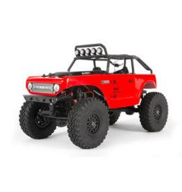 Axial Axial SCX24 Deadbolt 1/24th Scale Elec 4WD - RTR, Red (AXI90081T1)