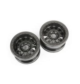 Axial Axial 2.2 Method Beadlock Wheels IFD Black (2)(AX31178)