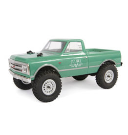 Axial 1/24 SCX24 1967 Chevrolet C10 4WD Truck Brushed RTR, Green (AXI00001T1)