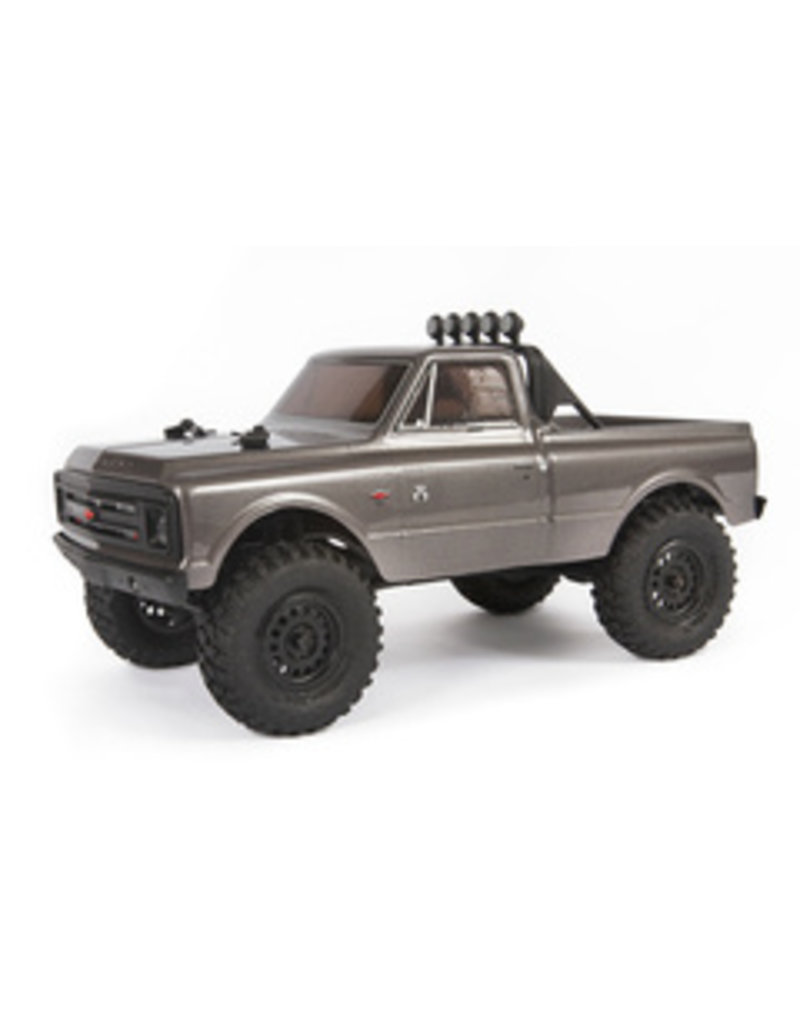 Axial 1/24 SCX24 1967 Chevrolet C10 4WD Truck Brushed RTR, Silver (AXI00001T2)