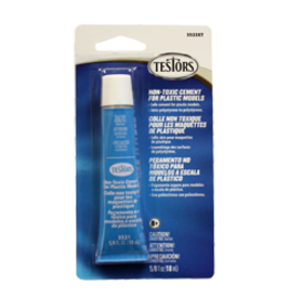 Testors Non-Toxic Plastic Cement, 5/8 oz  (TES3523XT)