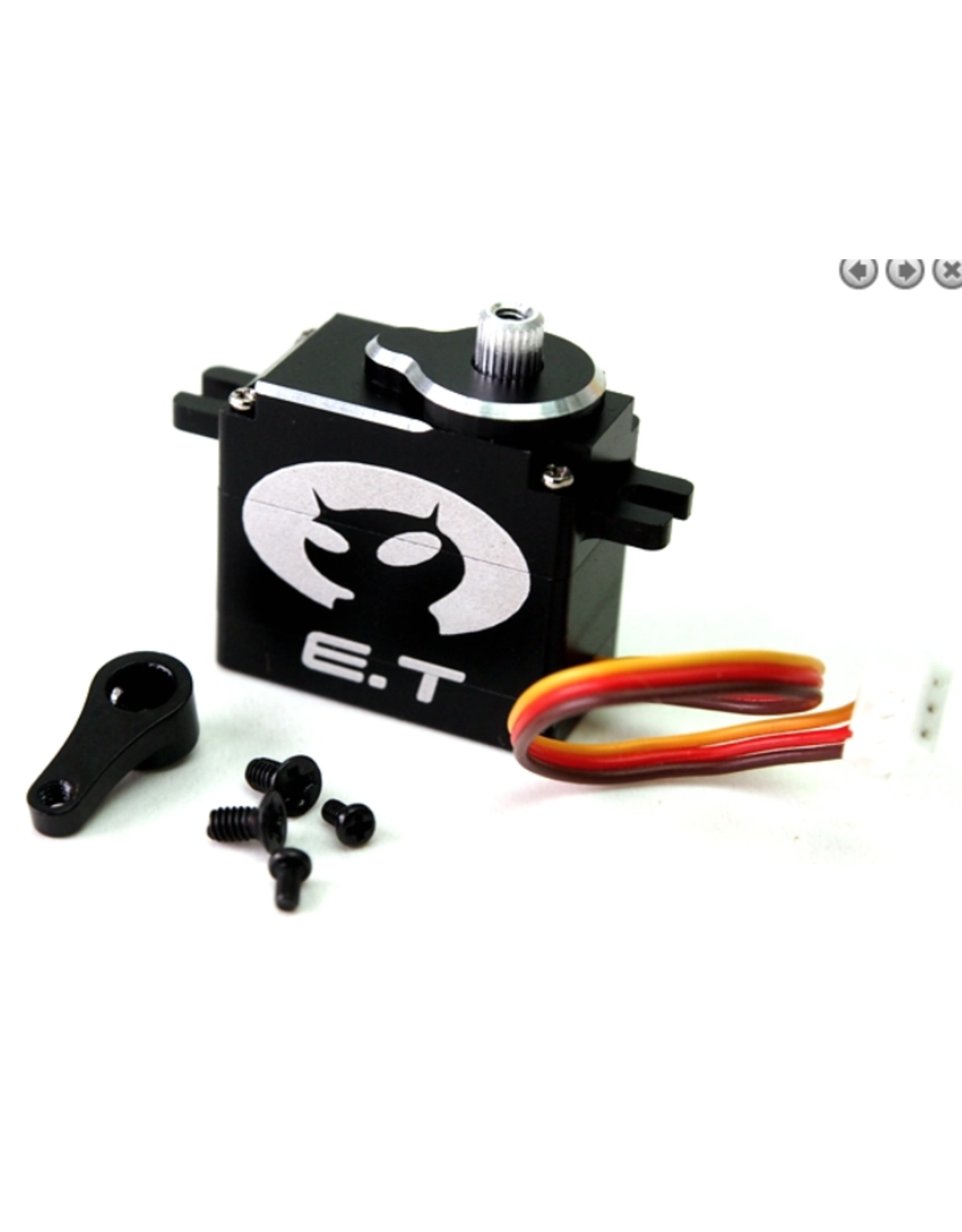 PN Racing EASYLAP High Speed Micro Servo E.T. RED Style (ET012)