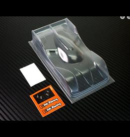 PN Racing PN Racing Mini-Z Lexan BMR Pan Car Body Kit Light Weight Version (600810L)