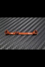 PN Racing PN Racing Mini-Z MR03 Double A-Arm +1.5 Deg Tie Rod (Orange) (MR3050T)