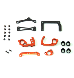 PN Racing PN Racing Mini-Z V5 LCG 98mm Motor Mount (Orange)  (MR3300)
