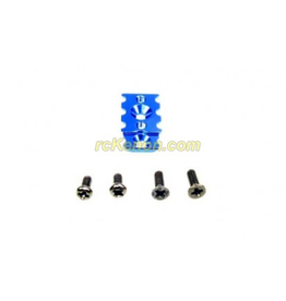 PN Racing PN Racing Mini-Z MR03 High Clamp Force T-Plate Mount (Blue) (MR3009B)