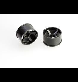 PN Racing PN Racing Mini-Z 2WD Machine Cut 5 Spoke (205) Rear Wheel R0 Black