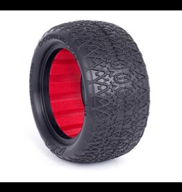 AKA Buggy 2.2 Chain Link Rear, Clay w/ Red Insert (2) (AKA13126CR)