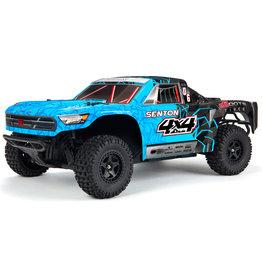 Arrma 1/10 SENTON 4x4 Mega SC Brushed Truck RTR,Blue/Black (AR102715T2)