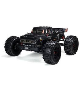 Arrma 1/8 NOTORIOUS 6S BLX Classic Stunt Truck RTR, Black