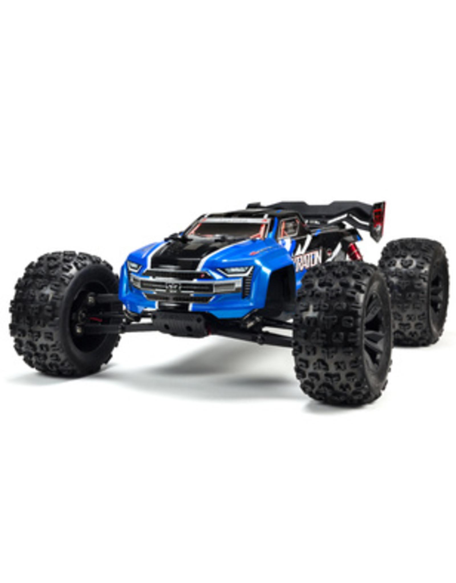 Arrma ARRMA 1/8 KRATON V4 - 6S BLX Brushless 4WD RTR - Blue (ARA106040T2)