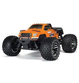 Arrma 1/10 GRANITE 4x4 3S BLX Brushless Monster Truck RTR, Orange/Black (AR102720T1)