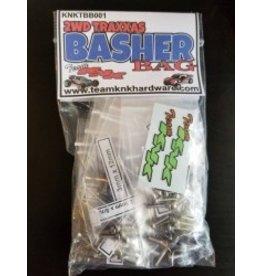 TeamKNKHardware Traxxas Basher Bag 2wd Stainless Hardware Kit (KNKTBB001)