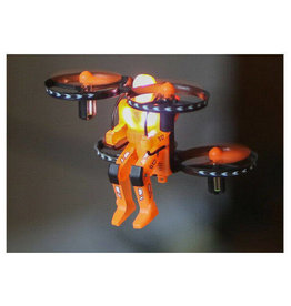 Rage R/C RAGE R/C - JETPACK COMMANDER RTF QUAD-ORANGE