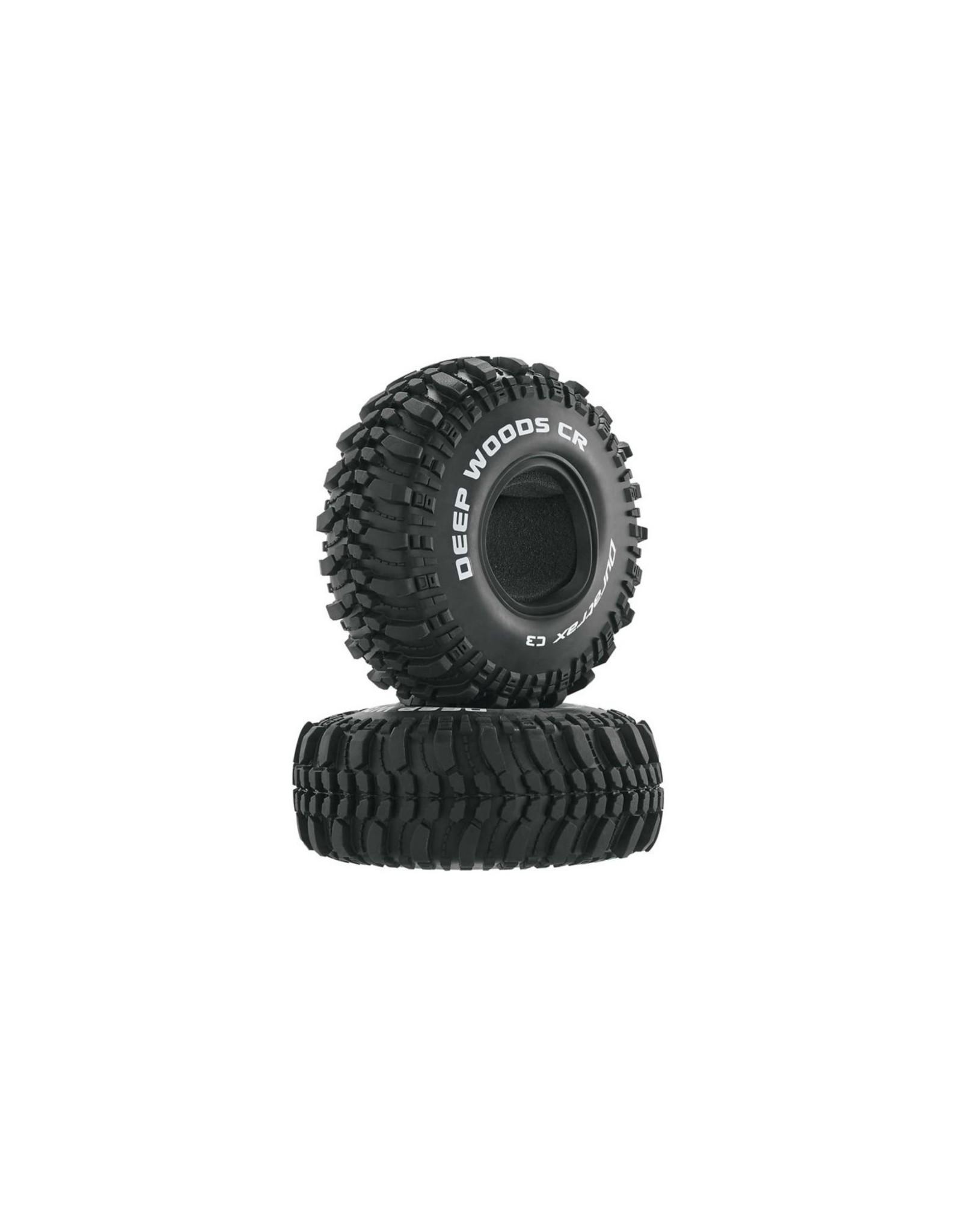 "Duratrax Deep Woods CR 1.9"" Crawler Tire C3 (2)  (DTXC4017)"