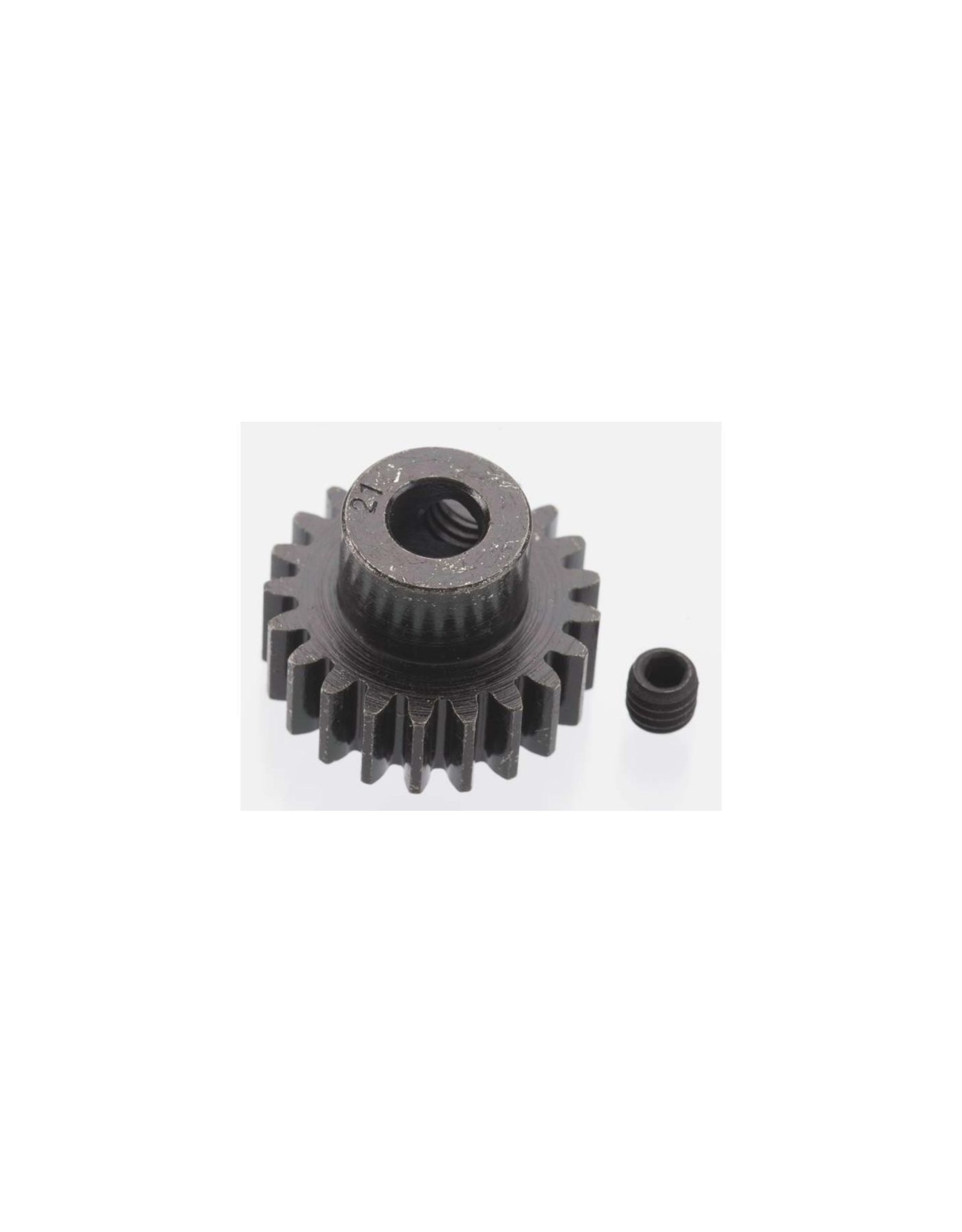 Robinson Racing Products (RRP) Extra Hard 21 Tooth Blackened Steel 32p Pinion 5mm (RRP8621)