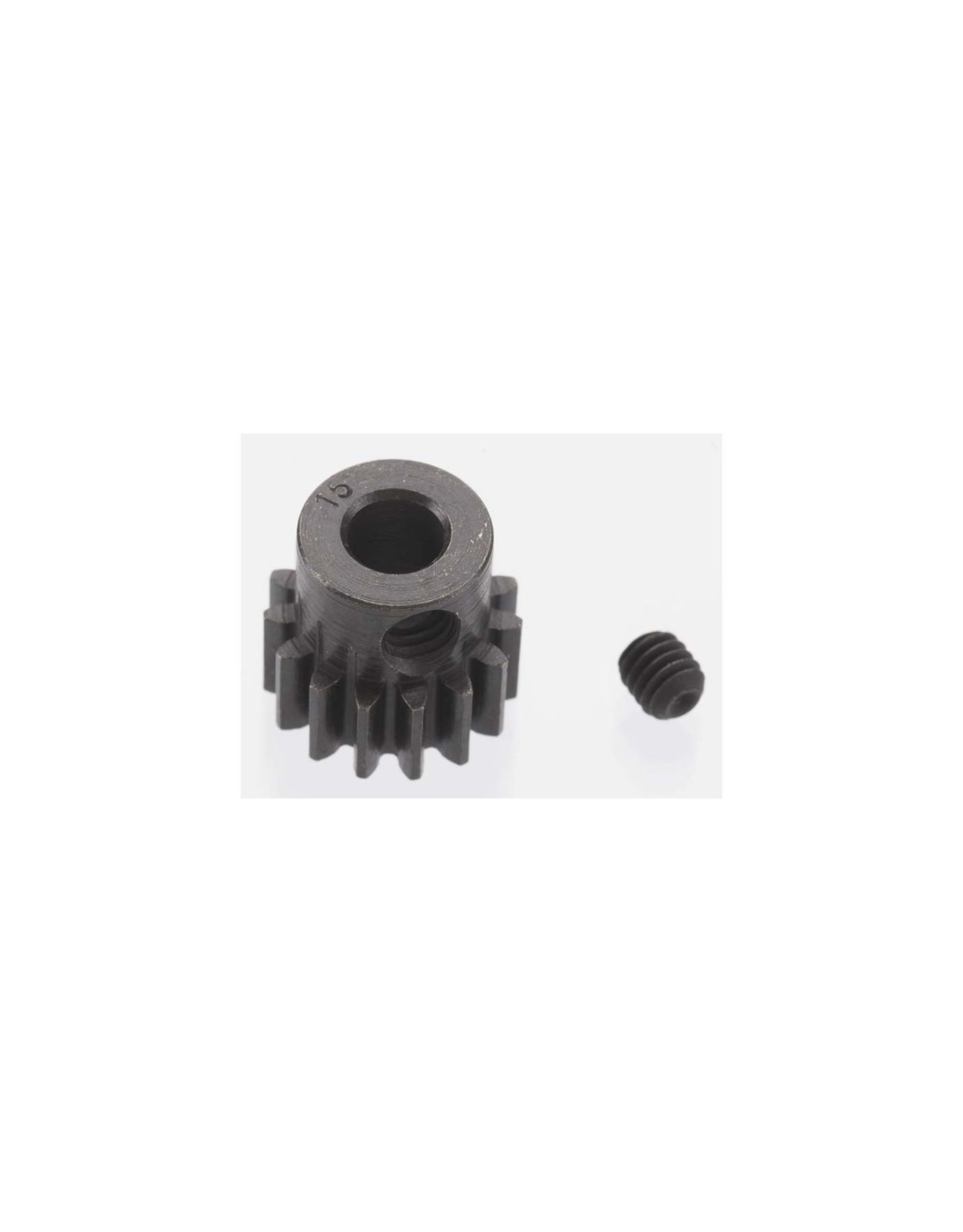 Robinson Racing Products (RRP) Extra Hard 15 Tooth Blackened Steel 32p Pinion 5mm (RRP8615)