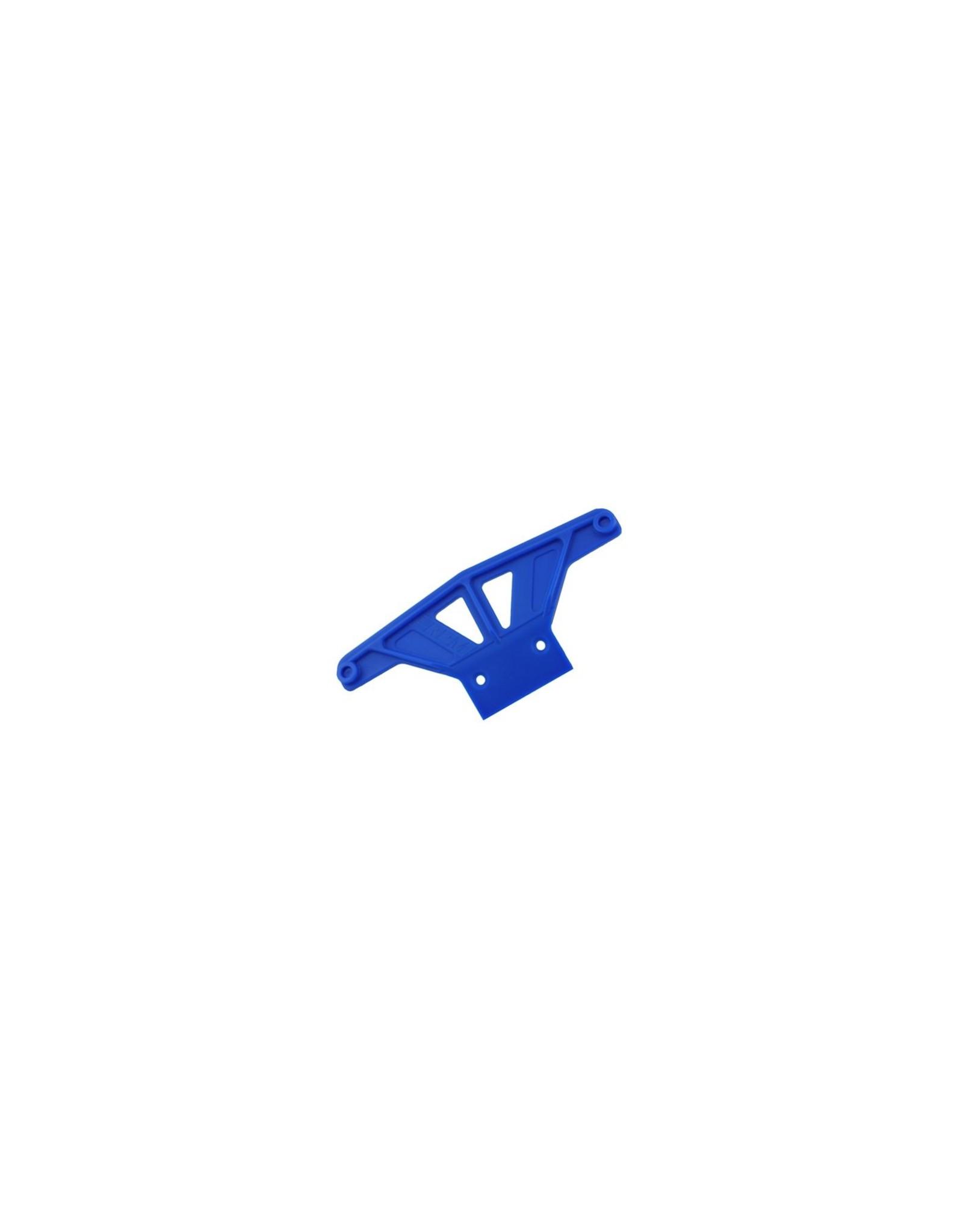 RPM RPM Front Wide Bumper Blue - Rustler/Stampede  (RPM81165)
