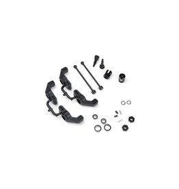 Tekno M6 Driveshafts and Hub Carriers (Slash)(Rear,6mm)  (TKR6852X)