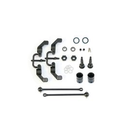 Tekno M6 Driveshafts and Hub Carriers (2WD Slash, Nitro Rustler&Stamped (TKR1951X)