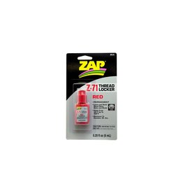 Pacer Technology ZAP Z-71 Red Thread Lock, .20 oz  (PAAPT71)