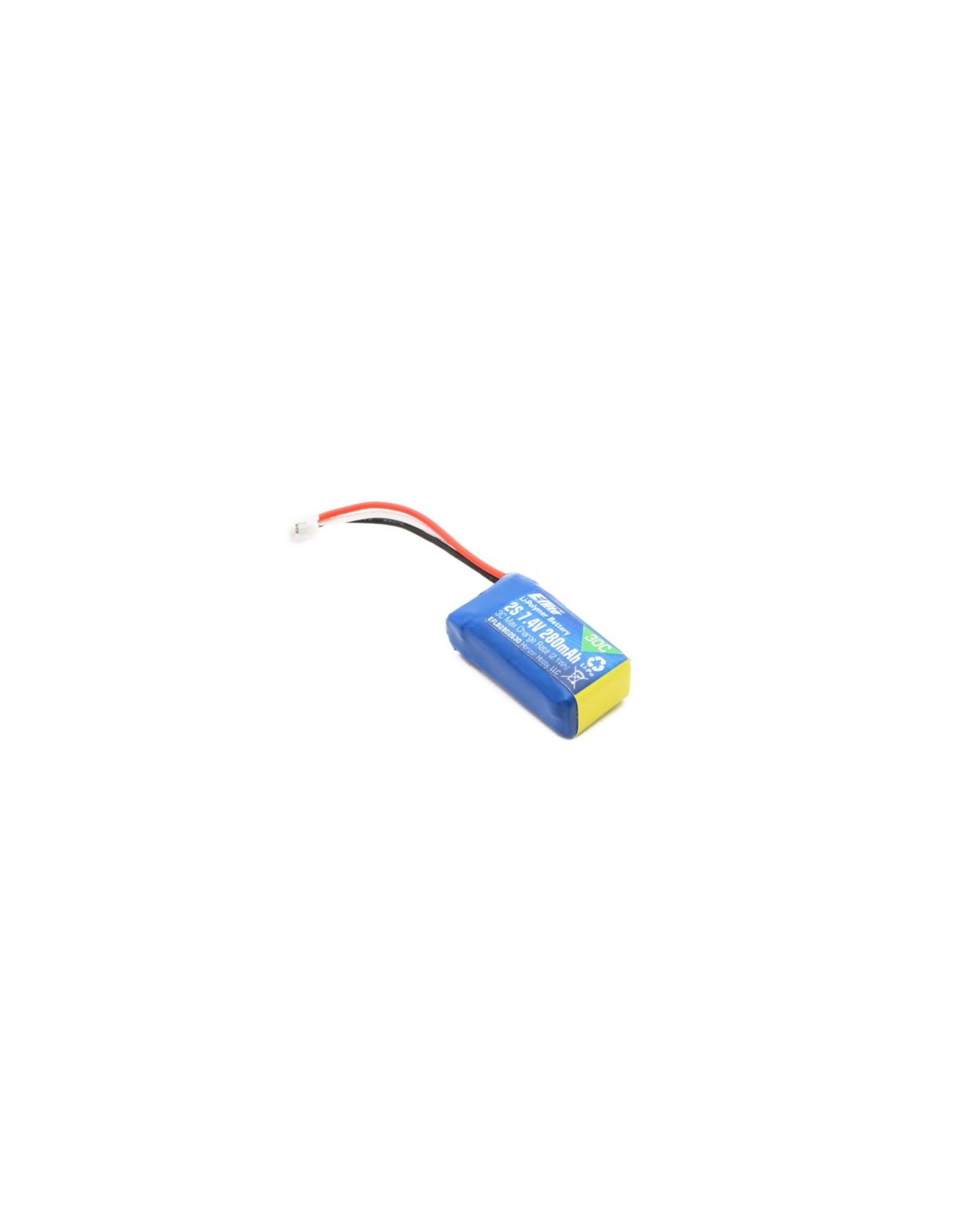 Eflite 280mAh 2S 7.4V 30C LiPo Battery  (EFLB2802S30)