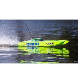 Pro Boat Miss GEICO Zelos 36 Twin Brushless Catamaran: RTR (PRB08040)