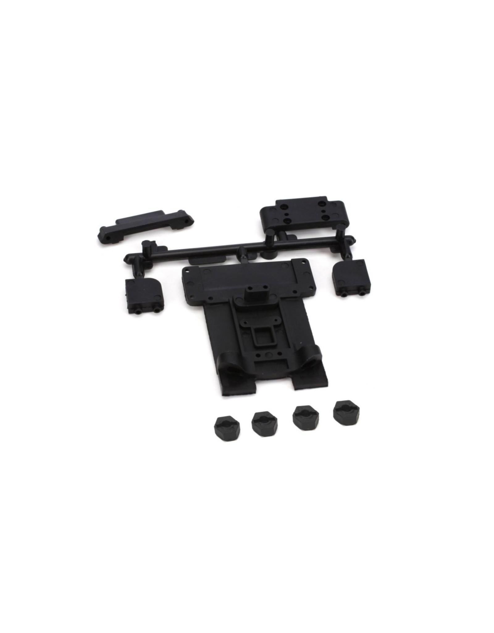 ECX Fr/R Suspension Mount Set: 1:10 2wd Circuit, Boost (ECX1092)