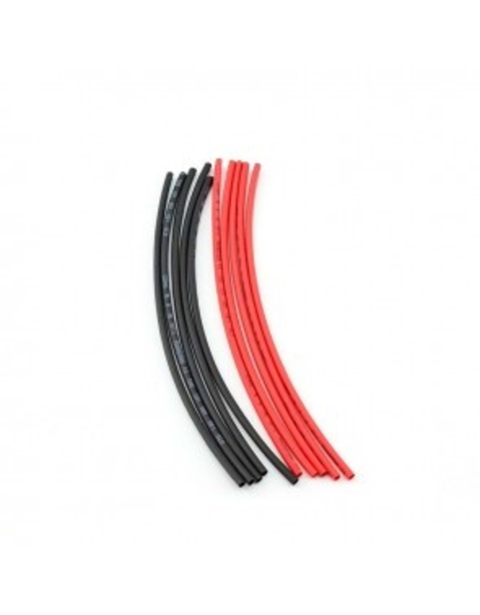 HobbyStar HOBBYSTAR HEAT-SHRINK TUBING, 2MM, 5PCS. RED/BLK (140-15-216)