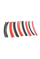 HobbyStar HOBBYSTAR HEAT-SHRINK TUBING, 2-6MM, VARIETY PACK. RED/BLK  (140-15-286)