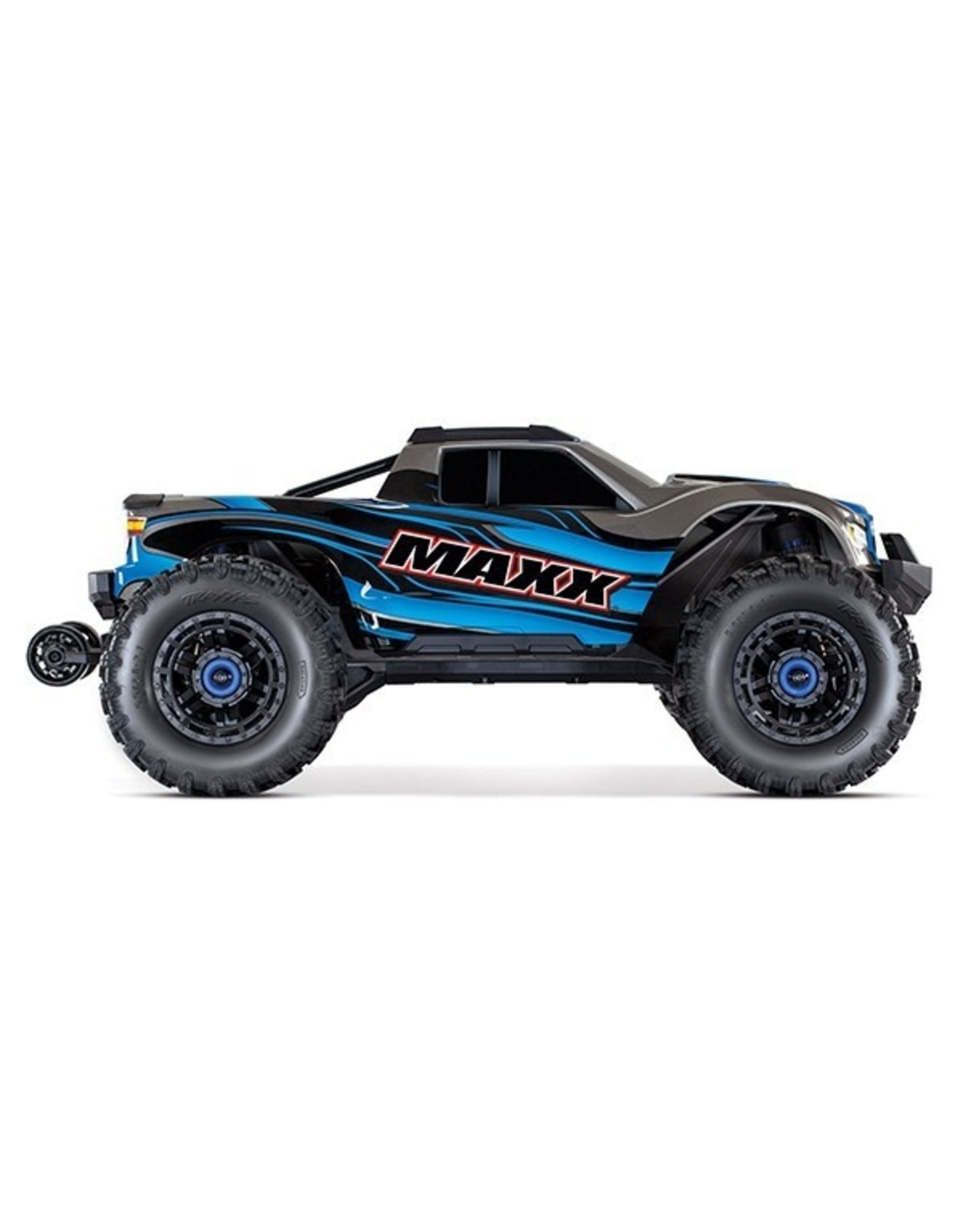 Traxxas Maxx: 1/10 4WD 4S-Capable Brushless Truck (BLUE)(89076-4)