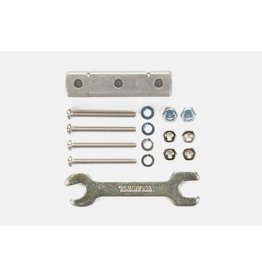 Tamiya JR Mass Damper Block 8x8x32mm - Silver  (TAM95346)