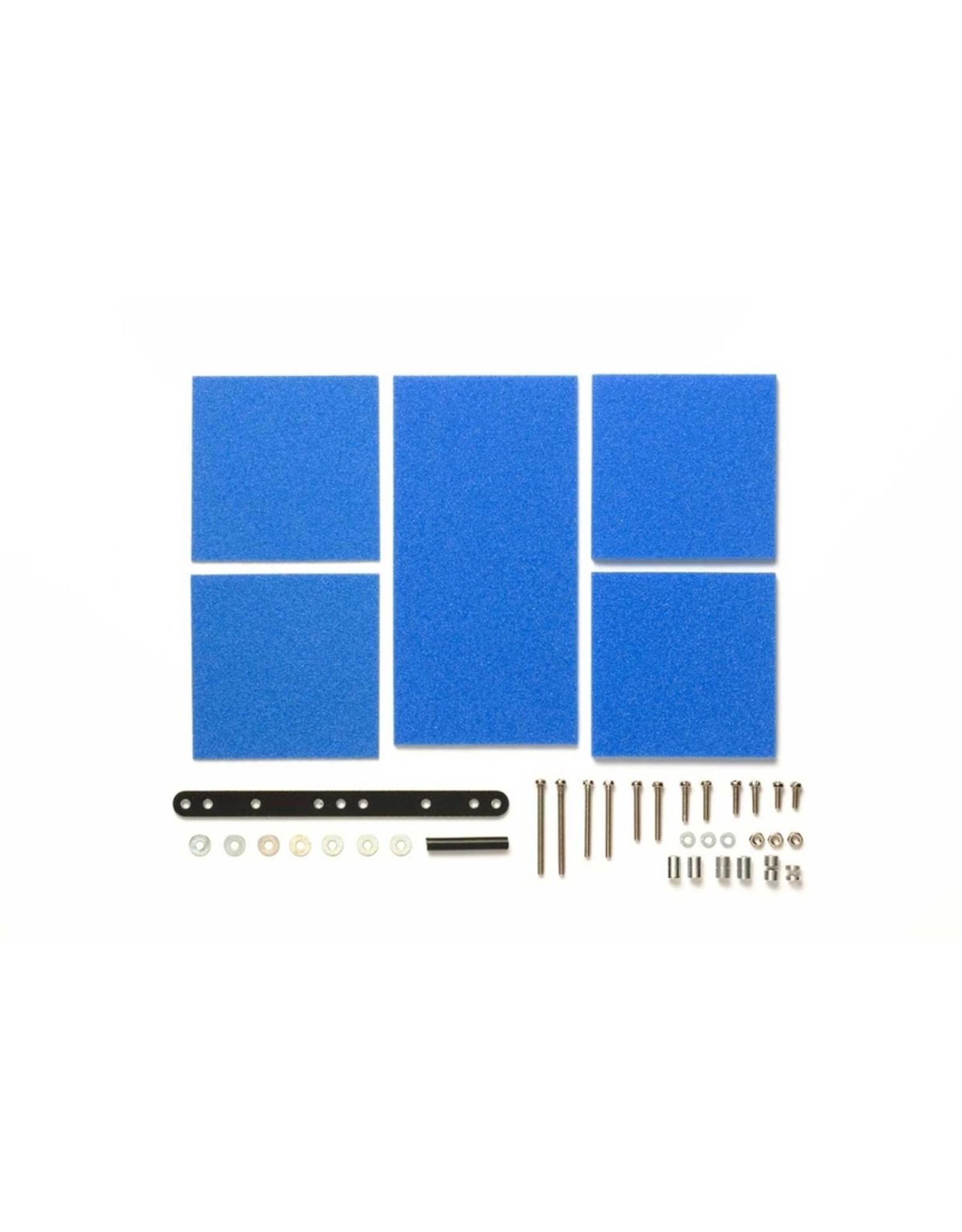 Tamiya JR Brake Sponge Set 1/2/3mm Blue (TAM15512)